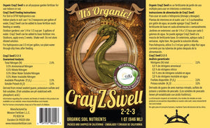 CrayZ Swell Liquid (5 Gallon)