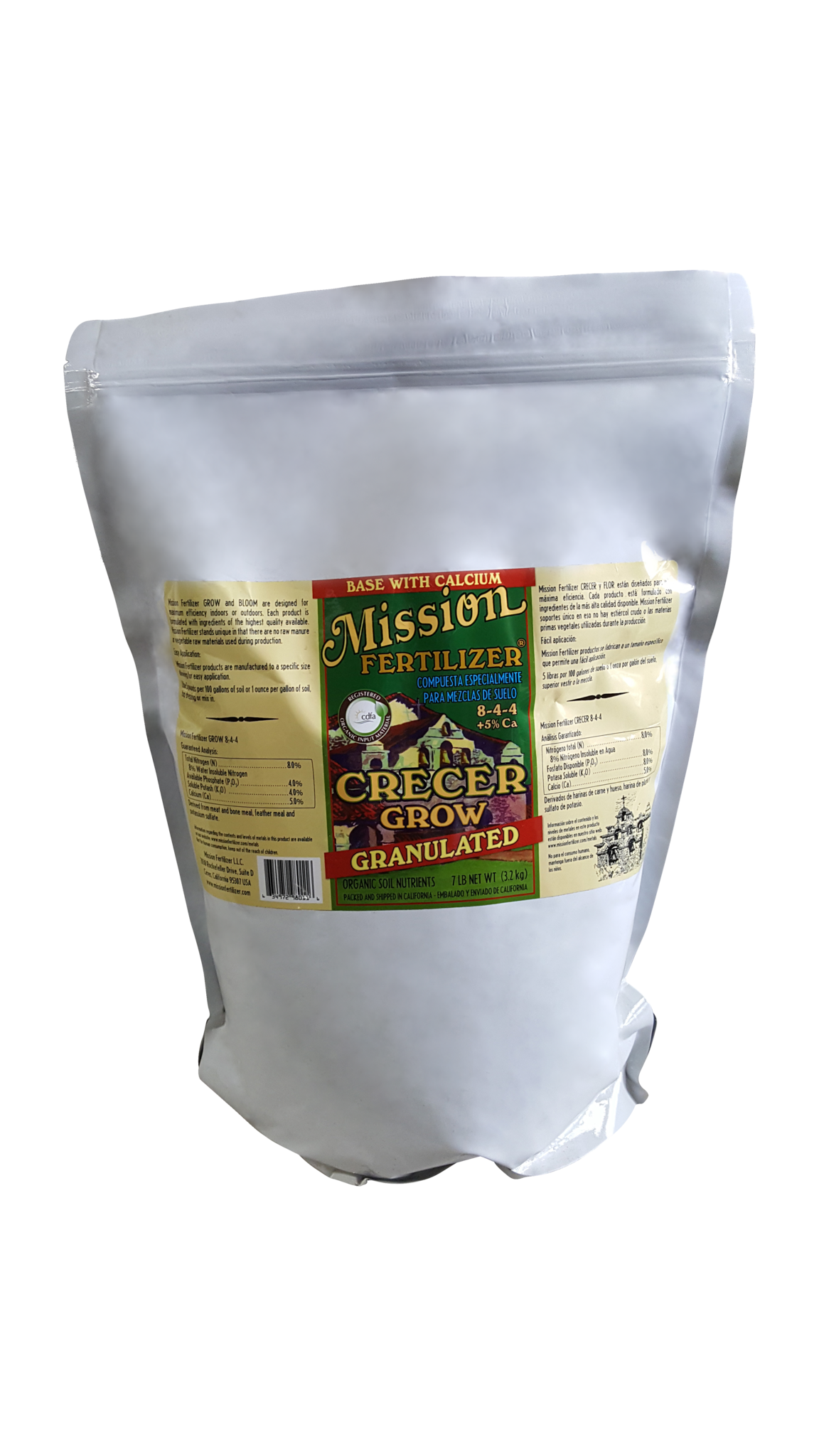 Mission GROW granular with Calcium (7 lb)