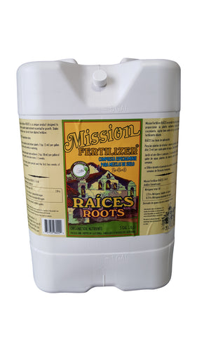 Mission ROOTS 2-0-0 Liquid (5 GALLON)