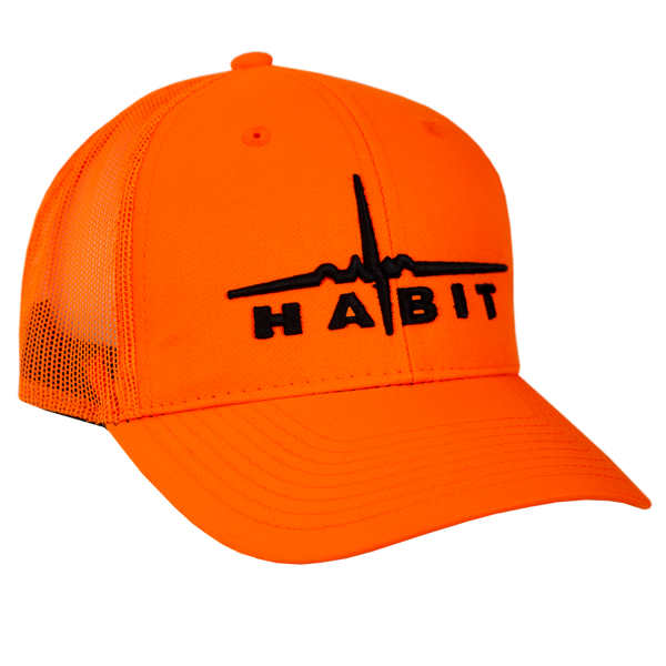 Habit® Blaze Orange Mesh Back Hat