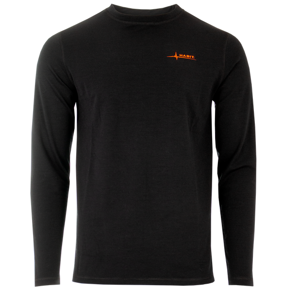 Habit® Men's Redstag Lodge Merino Base Layer Top
