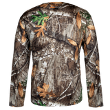 HABIT Men's PT1386 Doss Cabin Long Sleeve Camo Tee
