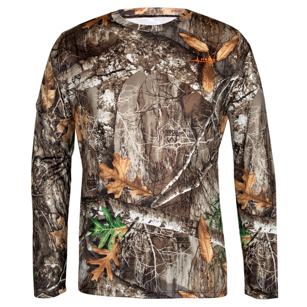 Men's Doss Cabin Long Sleeve Camo Tee