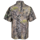 Habit® Men's Outfitter Junction Short Sleeve Camo Shirt - Mossy Oak