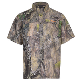 Men's Outfitter Junction Short Sleeve Camo Shirt - Mossy Oak