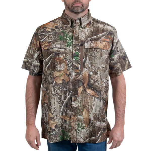Men's Hatcher Pass Short Sleeve Camo Guide Shirt