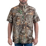Men's Hatcher Pass Short Sleeve Camo Guide Shirt - Realtree