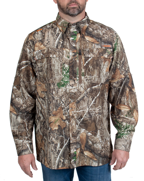 Men's Hatcher Pass Long Sleeve Camo Guide Shirt - Realtree