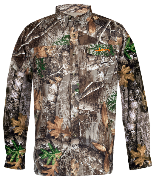 Habit® Men's Outfitter Junction Long Sleeve Camo Shirt
