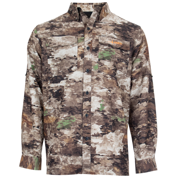 Men's Outfitter Junction Long Sleeve Camo Shirt-Raider