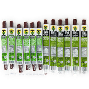 Variety - Original Flavors, No Sugar, 100% Grass-Fed Beef Sticks (12 - 144 Counts)