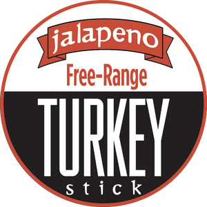 Jalapeno - Turkey, Free-Range Turkey Sticks (12 - 144 Counts)