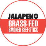 Jalapeno 100% Grass-Fed Beef Sticks (12 - 144 Counts)