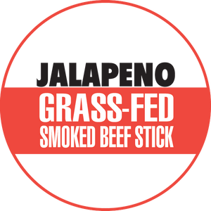 Jalapeno 100% Grass-Fed Beef Sticks