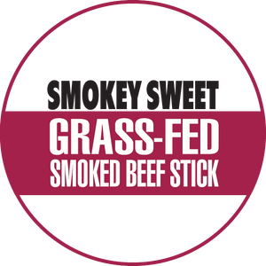 Smokey Sweet 100% Grass-Fed Beef Sticks