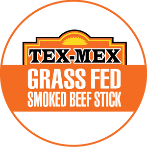 Tex-Mex 100% Grass-Fed Beef Sticks (12 - 144 Counts)