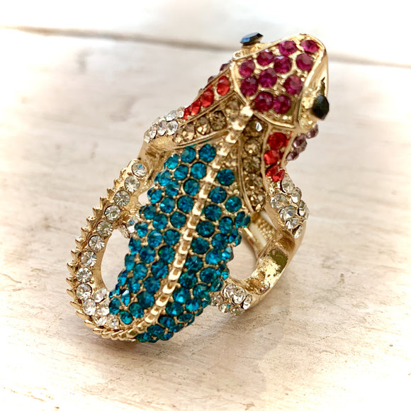 Rosie Fox Chameleon Costume Jewellery Ring