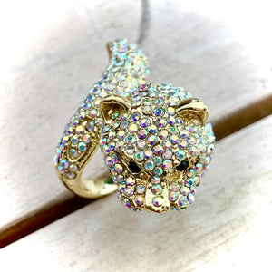 Rosie Fox Panther Costume Jewellery Ring