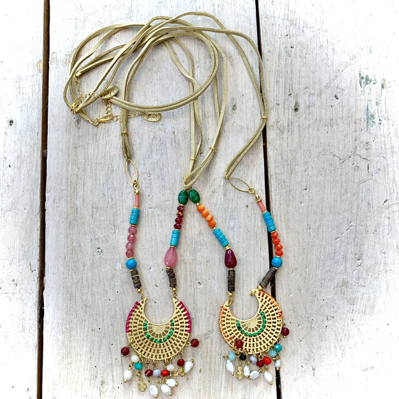 Treaty Boho Beaded Necklace