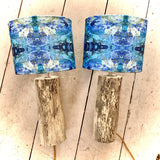 Table Lamp Pair 'Driftwood' Collection Driftwood Base