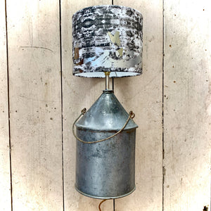 Industrial Glamour Table Lamp