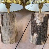 Limited Edition Into The Woods Collection Table Lap Pair Driftwood Bases