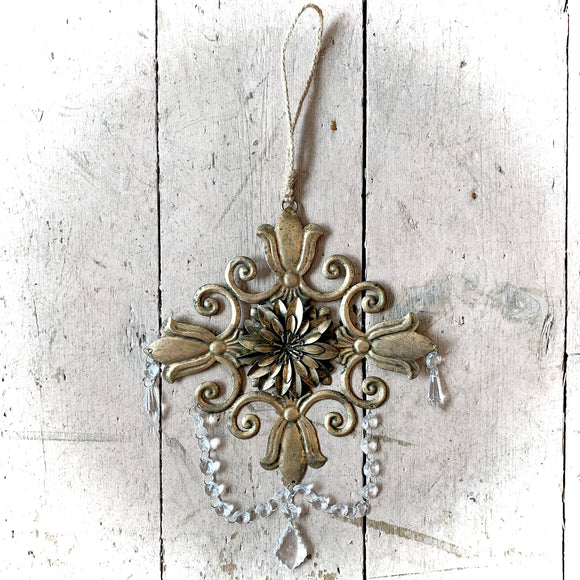 Baroque Gold Decorative Hanging Large