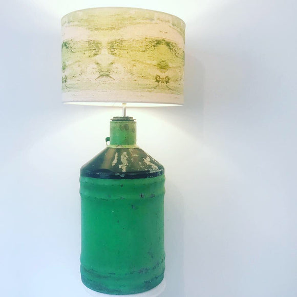 Green Meadow Collection Statement Lamp