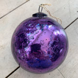 Glass Christmas Bauble Extra Large