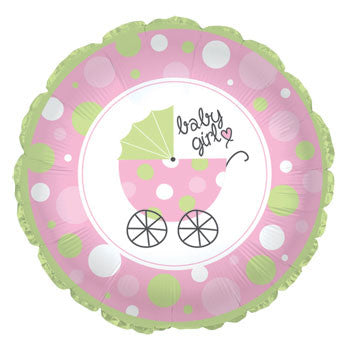 Baby Girl Balloon - 18""