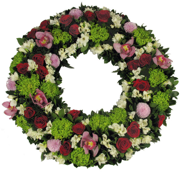 Standing Wreath- Bright