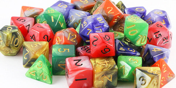 Combo Attack Dice Are Ready For A Fight