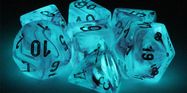 Ghostly Glow Dice Are All The Rage