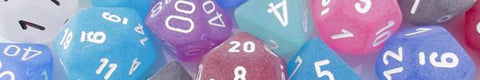 Frosted Dice