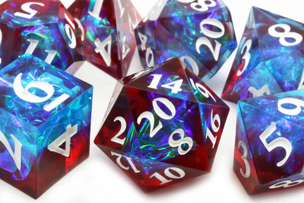 Inclusion Dice: Blood and Ice