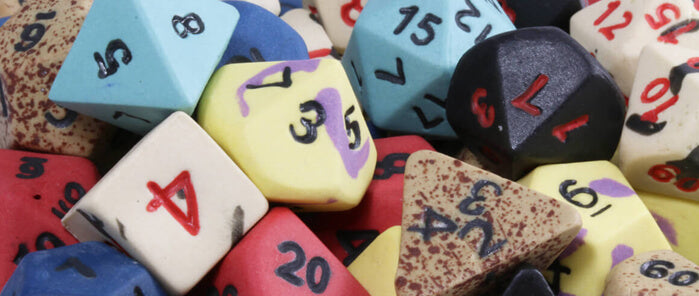 D&D Ceramic Dice