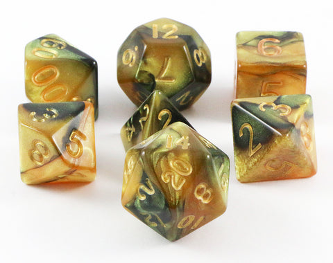 combo attack dice yellow