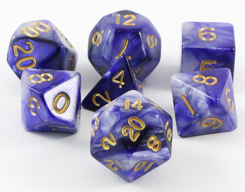 combo attack dice blue