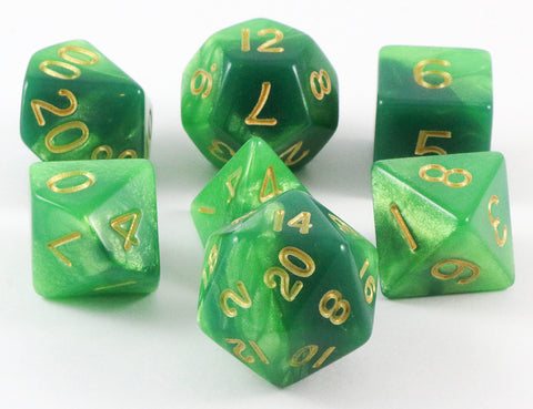 combo attack dice green