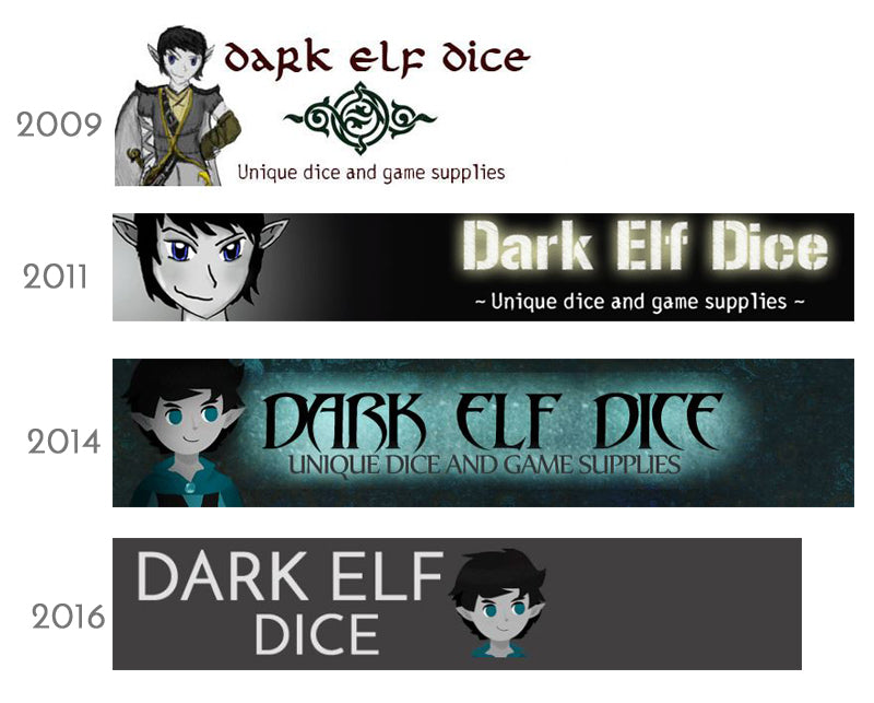 dark elf dice logos