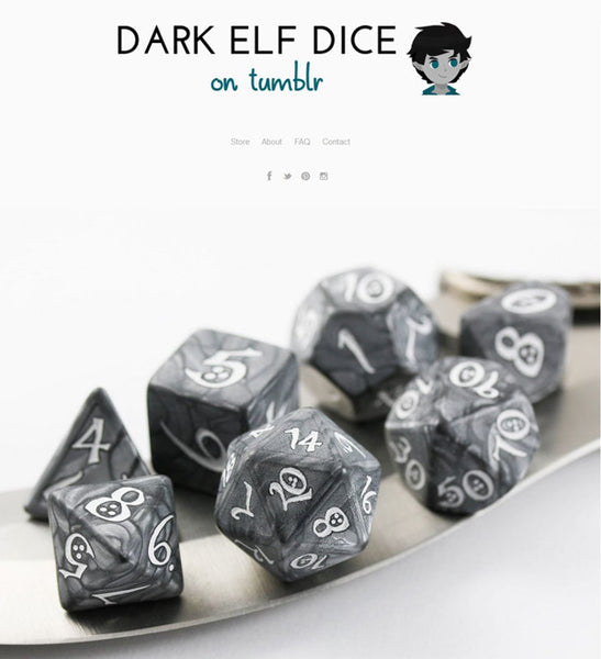 Dark Elf Dice Tumblr 2