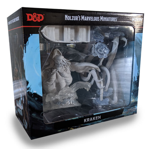 Kraken D&D Miniature Boxed Set