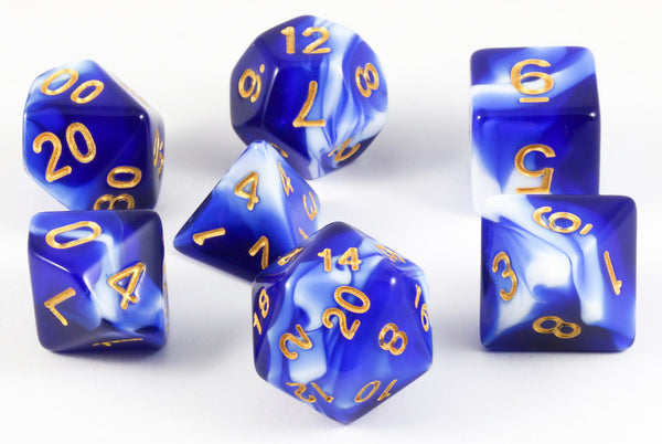 Mystic Dice Blue