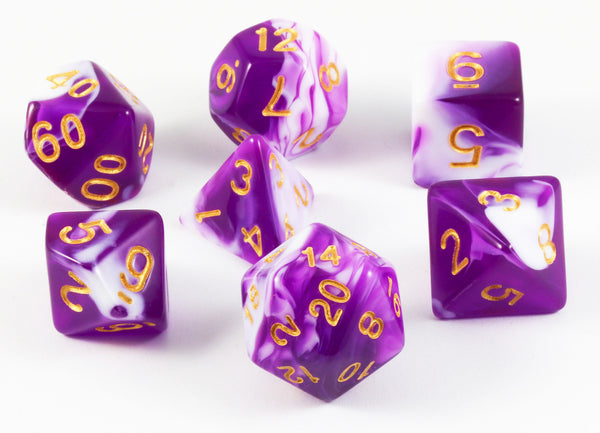 Mystic Dice Purple