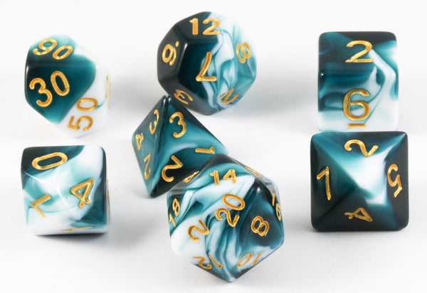 Mystic Dice Teal
