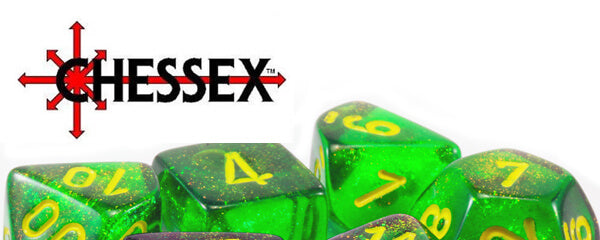 New Chessex Dice 2019