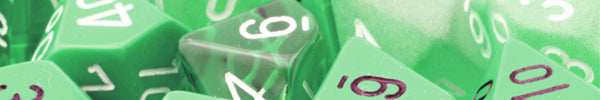Green RPG Dice
