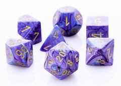 Lustrous Purple Dice