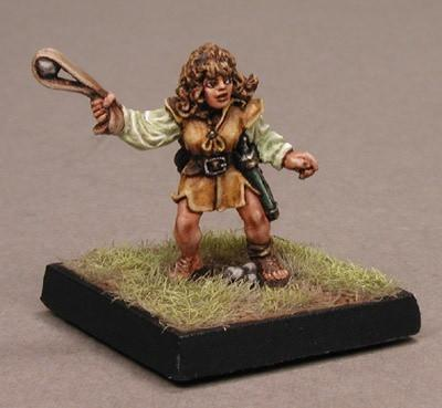 RPG Miniatures Halfling Female 2100