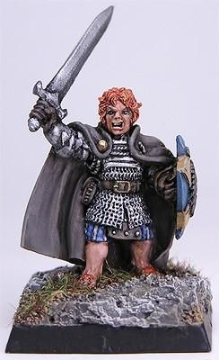 Miniatures Halfling Fighter 2531